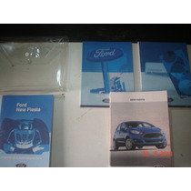 Manual New Fiesta 2013 2014 Original Ford Hatch Sedan Flex