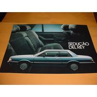 Folder Raro Ford Del Rey 85 1985 Cht