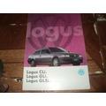Vw Logus Cli/gli/glsi 1994/95 Catalogo Lançamento