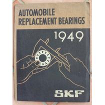 Catálogo Antigo De Rolamentos Skf Anos 40/50