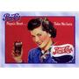 5521- Placa Decorativa Bebida Refrigerante Pepsi Cola