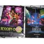 Cartaz (2) Cinema *fantasia* Walt Disney- Scooby Doo