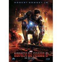 Poster A3 Do Filme Homem De Ferro 3 (ver. Pré 5)