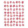 Oito Lines De Rosa Flores Poster Impressão Tasmin Phoenix