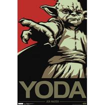 Poster (61 X 91 Cm) Star Wars - Yoda