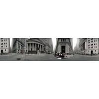 360 Grau Vista De Prédios Parede Rua Manhattan Novo
