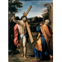 Poster (46 X 61 Cm) Christ Appearing To Saint Peter Agostino