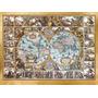 Magna Carta Mundi Poster Impressão Nicolaus Ioannis