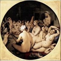 Turco Banho 1862 Jean Auguste Dominique Ingres (1780-1867