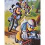 Poster (41 X 51 Cm) Mickey & Friends: Biking Walt Disney