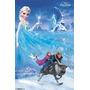 Poster Disney Congelado Elsa / Anna Única Folha Rp13242