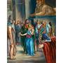Poster (46 X 61 Cm) Sarah Is Taken Into Pharaoh