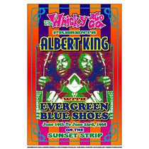 Poster (36 X 51 Cm) Albert King 1968:whisky-a-go-go Los