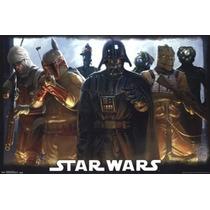 Poster (91 X 61 Cm) Star Wars - Bounty Hunters