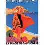 Mediterranee Poster Impressão Rodger Broders