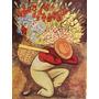 Poster (23 X 30 Cm) Vendedora De Flores Diego Rivera
