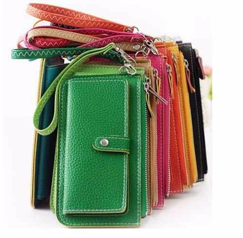 Bolsa De Mão Tipo Carteira : Carteira feminina e bolsa de m?o v?rias cores r