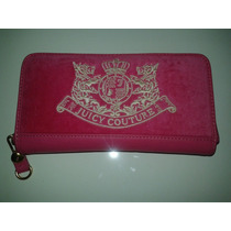 Carteira Juicy Couture Rosa Pink Luxo