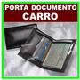 Porta Documentos De Carro E Cnh Couro Ecologico