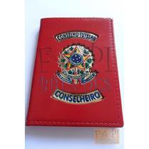 Porta Funcional Distintivo Conselho Tutelar Conselheiro P26v