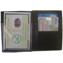 Carteira Mágica Couro Porta Documento Cartões Dinheiro