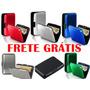 Carteira Porta Cartão Visita Crédito Alumínio Frete Grátis