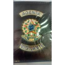 Carteira Porta Funcional Agente Vigilante Brasão Republica