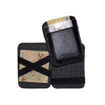 Carteira Mágica Porta Cartão E Dinheiro - Couro Legítimo