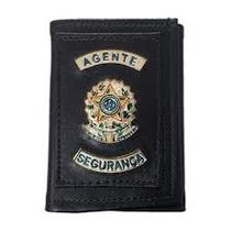 Porta Funcional Agente De Segurança,carteira Segurança