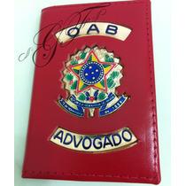 Porta Funcional Oab Advogado Proteção Oab Couro Legitimo