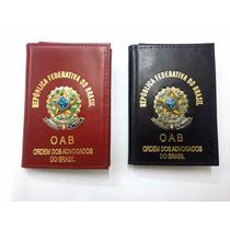 Carteira Porta Documentos Funcional Oab Advogado (couro)