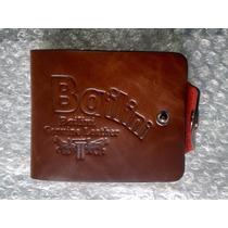 Carteira Masculina Couro Bailini Genuine Leather