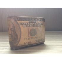 Carteira Masculina Autêntica Dólar Original