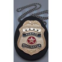 Distintivo - Agente Segurança