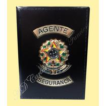 Distintivo Ou Carteira Agente Vigilante - Agente Segurança