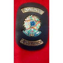Distintivo Agente De Segurança- Brasão República