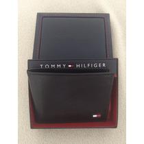 Carteira Masculina Tommy Hilfinger - Preta -100% Original