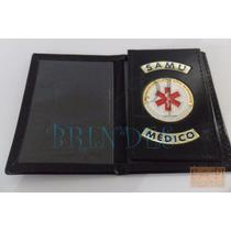 Porta Funcional Distintivo Samu P/ Médico Frete Grátis P148p