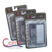 Plm3 Kit 3 Refis Plástico Para Carteira Mitty Linha 3