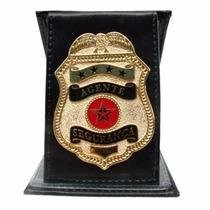 Porta Notas - Agente Segurança - Preto