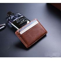 Mini Carteira Magica Com Porta Cartões De Credito Lançamento