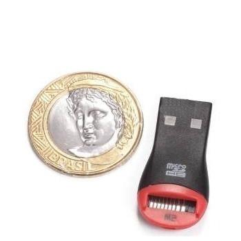 Cartão Memória Micro Sd 8gb + Leitor E Gravador Usb 2.0 N95