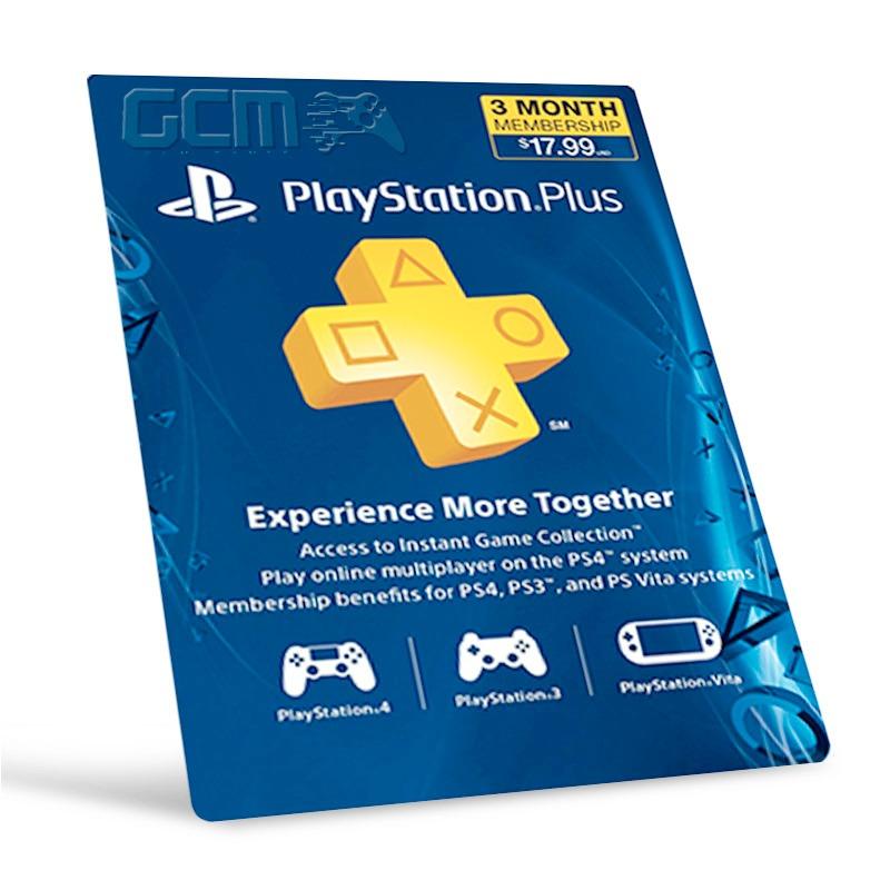 Cart o psn playstation network plus 3 meses imbat vel r 77 90 no mercadolivre - Psn plus 3 meses ...