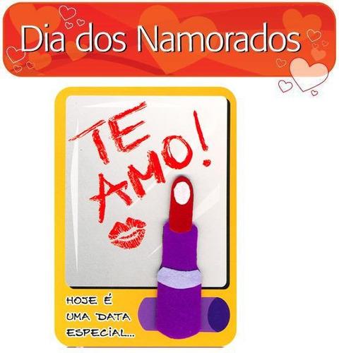 Cartão - Romântico - Te Amo, Fina Ideia, 15x21cm, Com Envelo