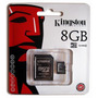 Cartão De Memória Micro Sd Kingston 8gb Original Lacrado