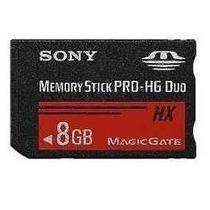 Cartão Memory Stick Pro-hg Duo Sony 8gb 50mb/s Original Psp