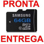 Cartão Memória 64gb Samsung Classe 10 + Tf Micro Sd Card