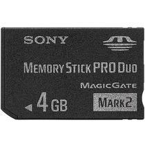 Cartão Memória Sony 4gb Memory Pro Duo Mark2 Psp Câmera