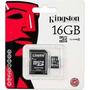 Cartão De Memória Micro Sd Kingston 16gb Original Lacrado