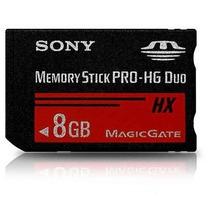 Cartão Memória Memory Stick Pro-hg Duo Hx 8gb, Psp, Câmera